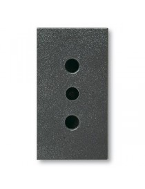 45306TS-OUTLET SICURAVE 2X10AT NOIR