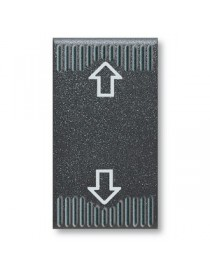 45353-BUTTON COMMFREC1P 10A 250V NOIR