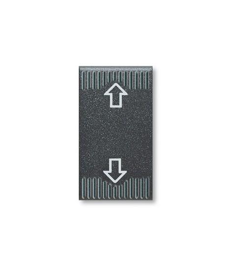 45353-PULSANTE COMMFREC1P 10A 250V NOIR