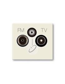 PR.TV-FM-SAT DIR.3PORTE ON THE REGULAR.BLANC