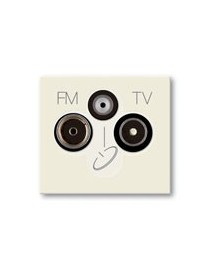 PR.TV-FM-SAT DIR.3PORTE UTENT.BLANC