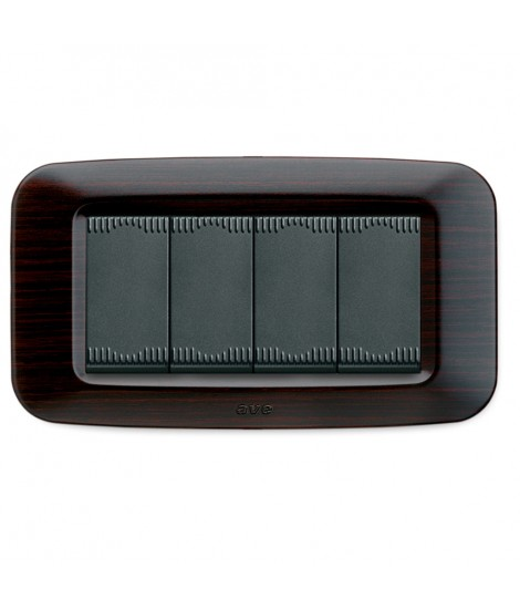 45PY04WG-PLACCA YES TECNOP 4M WENGE