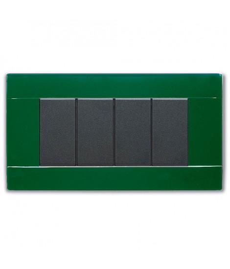 45P04VI-PLACCA RAL45 LUCIDA 4MVERDE INGLES