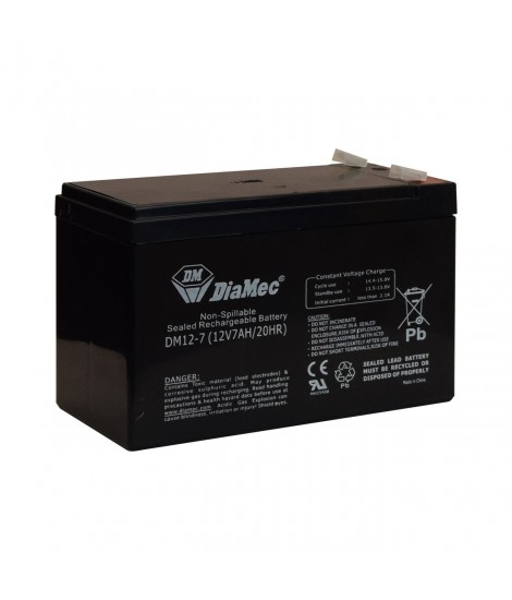 12V/6.5AH RECHARGEABLE BATTERY