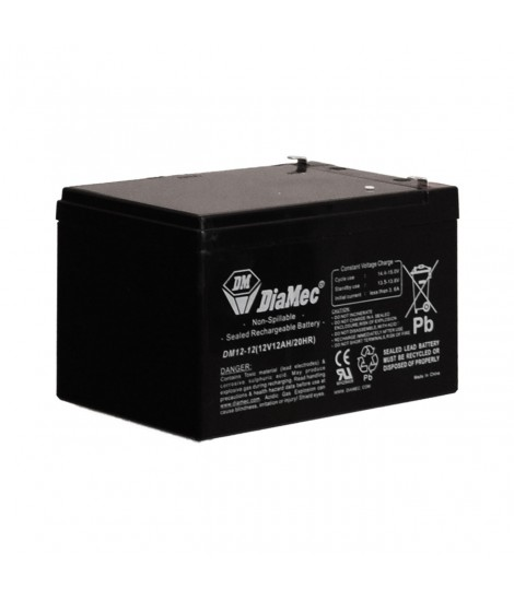 12V/4.2AH RECHARGEABLE BATTERY