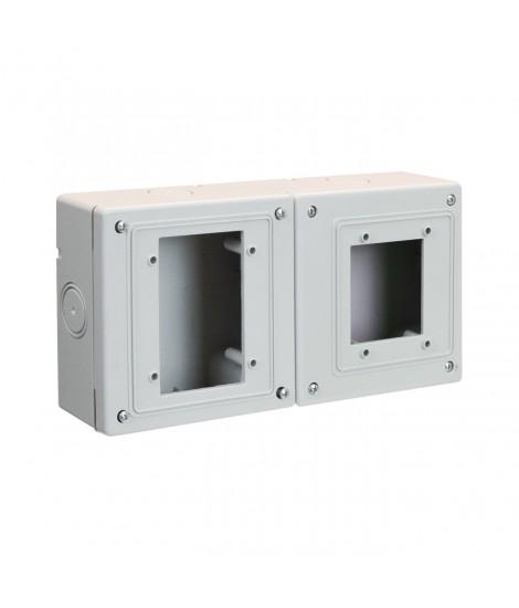 WALL BOX X 2M IP66+3M IP55 S45