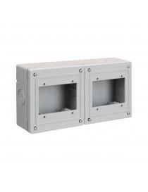 BOX DA PARETE X 6(3+3)M IP55 S45
