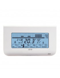 PROGRAMMABLE THERMOSTAT TOUCH THE WALL DOMUS