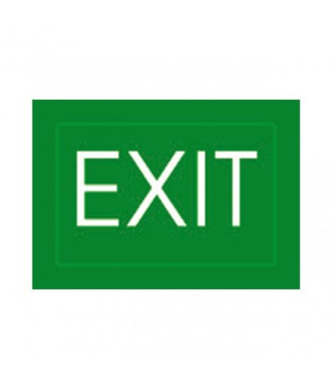 """SET 4 PELLICOLE SCRITTA """"EXIT"""""""