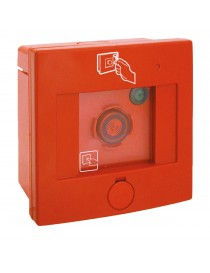 SQUARE IP55 ROTT.GLASS EMERGENCY