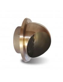 EXTERNAL STAINLESS STEEL TERMINAL d125mm