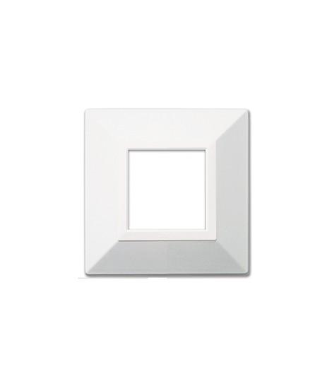 PLATE ZAMA44 WHITE RAL9010 2M