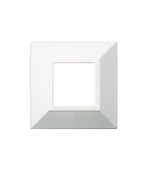 PLATE ZAMA44 WHITE MICALIZED 2M