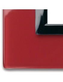 44PV7RPL-PLATE VERA44 GLASS POMPEII RED 7M