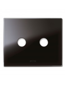 PLAQUE NEW STYLE BLACK GLASS AS.2COM