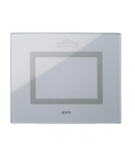 Touch Glass Plate, S44 GREY NEUT