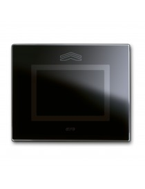 Touch Glass Plate, S44 NEUTRAL BLACK