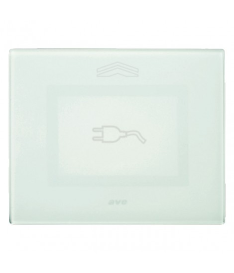 Placca Touch Vetro, S44 VERDE SPINA
