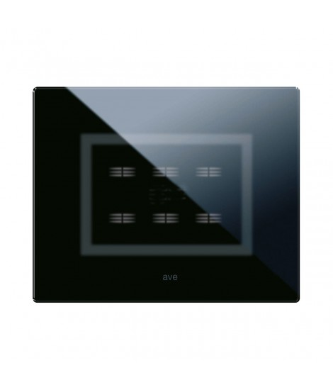 ABSOLUTE BLACK VERATOUCH PLATE 6COM