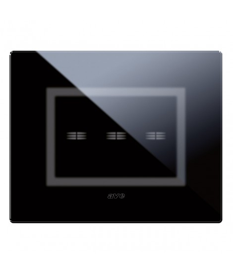 ABSOLUTE BLACK VERATOUCH PLATE 3COM