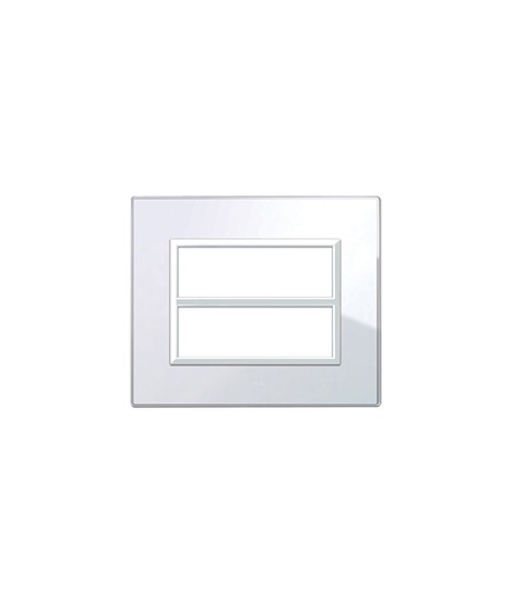 REAL44 WHITE GLASS PLATE 6+6M