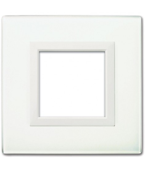 REAL44 WHITE GLASS PLATE 2M