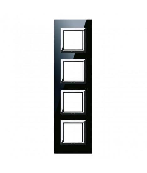 VERA44 BLACK GLASS PLATE 2+2+2+2M
