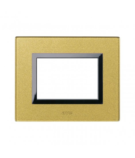 VERA44 GOLD GLASS 3M PLATE