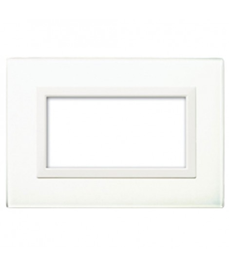 REAL44 WHITE GLASS PLATE 4M