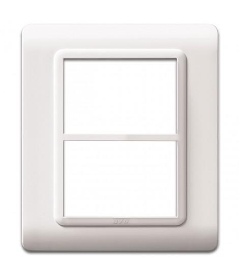 PLATE TECN.44 WHITE RAL9010 3+3M