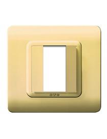 PLAQUE TECH.44 88X88 BRASS LIGHTS.1M