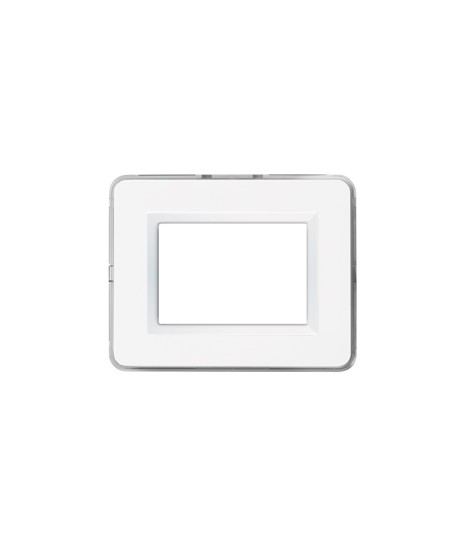 PLATE PERSONAL44 WHITE RAL9010 3M