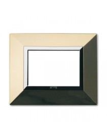 PLATE ZAMA44 POLISHED BRASS 3M