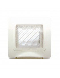PLACCA IP55 RAL9010 MEMBRANA S44 2M