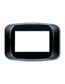 PLACCA BANQ. MR TECNOP. 4M. GLOSSY BLACK