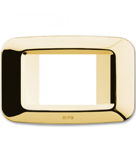 PLACCA YES TECNOP.2 MOD.AFF.OTTONE