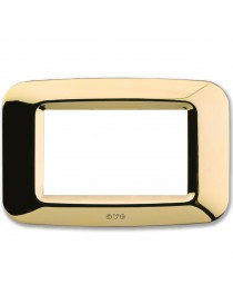 PLACCA YES TECNOP. 3 MOD.OTTONE