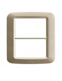 PLACCA YES TECNOP.3+3M.CHAMPAG.OPAC