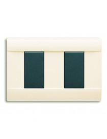 45P002BL-PLATE RAL45 GLOSSY 2MBIANCO BLANC