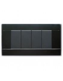 PLAQUE RAL45 GLOSSY 4M.GLOSSY BLACK