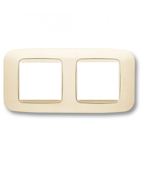 WHITE DOUBLE PLATE BLANC 4(2+2)M