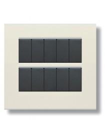 45P910BP-PLATE ZAMA45 10M WHITE BLANC