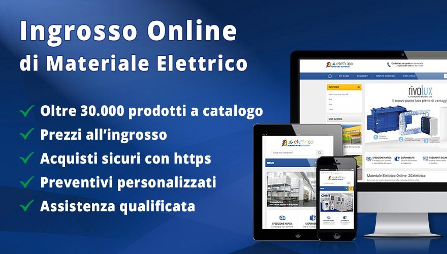 ingrosso materiale elettrico online